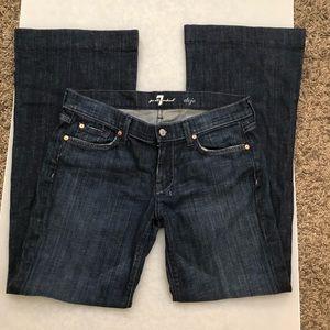 7 For All Mankind Dojo Jean Size 30